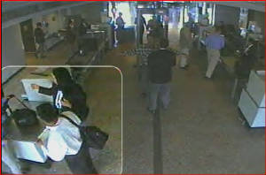 Dulles CCTV image of suspect